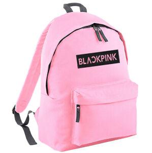KPOP Blackpink Backpack - School Bag Rucksack Fan Music Black Pink