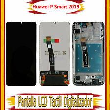 Pantalla Para Huawei P Smart 2019 POT-LX1 LCD Táctil Con Marco Negro Reemplazo