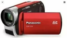 PANASONIC SDR-S26 VIDEO CAMERA BLACK BRAND NEW PAL