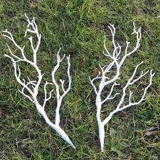 2pc Manzanita Artificial Dry Plant Branch White Wedding Church Decor