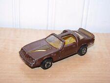 Road Champs Pontiac Firebird Turbo Trans Am Brown 1:64