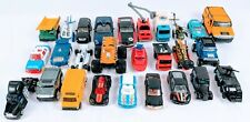 Lot Of 27 Diecast Matchbox Hot Wheels Maisto Toy Cars Trucks Vans & More
