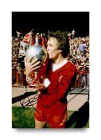 Phil Neal Signed 6x4 Photo Liverpool England Genuine Autograph Memorabilia + COA