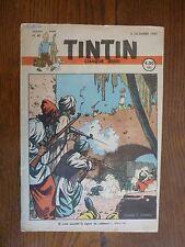 TINTIN BELGE-HERGE- NUMERO 40 de 1947- illustré JACOBS-TBE-autres nums 1946-1950