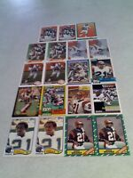 *****James Brooks*****  Lot of 100+ cards.....31 DIFFERENT / Football