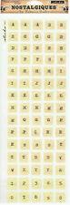 """""""Cracked Glass ABC"""" Nostalgiques Stickers - EK Success"""
