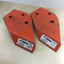 BOBCAT-LOT OF 2- 7004942 CUTTER SIDE SPRARE PART REPLACEMENT