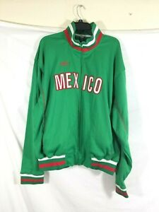 MENS 2XL Umbro MEXICO NATIONAL GREEN FOOTBALL SOCCER  Sweatshirt 100% Polyester
