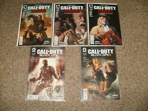 LOT 5 CALL OF DUTY ZOMBIES & BLACK OPS 1 2 3 4 5