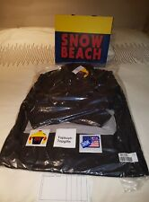 Polo Ralph Lauren Snow Beach Pullover Jacket Black Men Size L Large New IN HAND