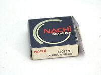 Nachi 6203-ZZE Metal Shield Ball Bearing New