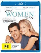 *New & Sealed* What Women Want (Blu-ray, 2013) Helen Hunt / Mel Gibson Romcom