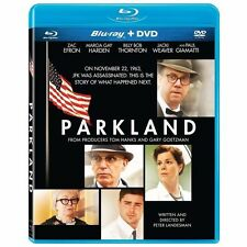 Parkland (Blu-ray/DVD, 2013, 2-Disc Set) Brand New Zac Efron