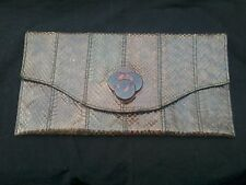 Peau de serpent sac à main/sac à main portefeuille