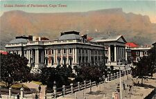 Africa postcard Cape Town, Union Houses of Parliament
