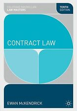 Contract Law by Ewan McKendrick (Paperback, 2013)