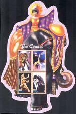 Liberia 2003 Cirque/TIGER/éléphant/Acrobat/divertissement/Clown/personnes SHT s6179a