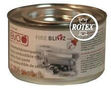 Pasta combustibile per fornello Fire Blitz fonduta pietra ollare 200 Gr. - Rotex