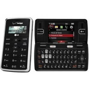 LG enV VX9100 Maroon - Red / Black (Verizon) Cell Phone Must Read