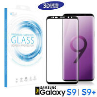 3D Curved Tempered Glass Full Cover Screen Protector for Samsung Galaxy S9 | S9+