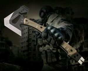 Tactical Tomahawk Downrange Rescue Multifunctional Axe Hammer Outdoor Camping