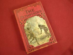 ANTIQUE VICTORIAN THE PATHFINDER BY JAMES FENIMORE COOPER BOOK DECORATIVE COVER