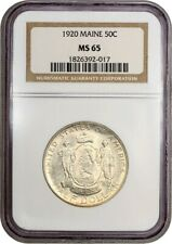 1920 Maine 50c NGC MS65 - Silver Classic Commemorative