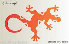 "Gecko STENCIL Southwest 9.5"" long Lizard Reptile Diamond Back Shape Desert Art"