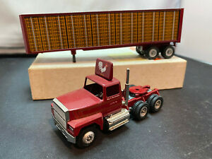 Winross Ray D Burkholder Lititz Pa Tractor Truck With Trailer 1/64 Scale Diecast
