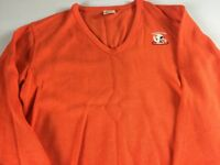 Tennessee Volunteers Sweater VTG Adult SZ S/M V-Neck Football USA Made Vols Top