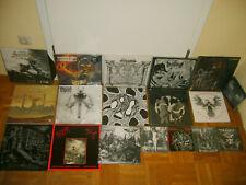 Black Metal Vinyl LP Sammlung Collection Lot Incriminated Sammath Goats of Doom