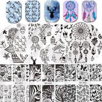 BORN PRETTY Nail Stamping Plates Dreamcatcher Princess Image Nail Art Manicure