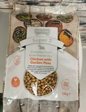 Irish Rover Super 7 chicken With garden Peas 10kg Dog Food.Free Next Day Deliver