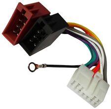 Adaptador cable enchufe ISO para autoradio de Subaru Justy Suzuki Alto Baleno