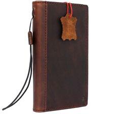 Genuine leather Case Samsung Galaxy S9 Plus Slim holder Wireless charge wallet