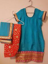 Punjabi patiala salwar suit stitched ready to wear salwar suit