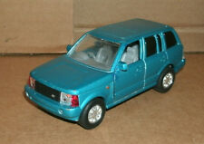 1/38 Scale Range Rover Luxury SUV Diecast Model Blue LR Land Rover 4x4 Replica