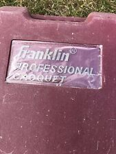 Franklin Professional Croquet Set
