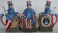 United States Air Force Uncle Sam character beer stein