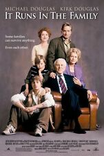 It Runs in the Family Original D/S Kirk Douglas Michael 2003 Movie Poster 27x40