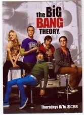 The Big Bang Theory Cryptozoic Promo Industry Summit 2012 Trading Card Black Box