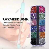 DIY Diamond Painting Cross Stitch Tools Embroidery Accessoriys Point Drill Pen