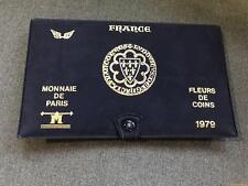 Coffret VIDE - Fleurs de Coins FDC 1979 Aile -  Monnaie de Paris
