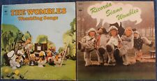 THE WOMBLES - 2 Albums Vinyles 33 tours - 1974