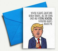 Funny Fathers Day Card Funny Card for Dad Funny Fathers Day Gift - New Dad Card