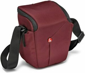 New Manfrotto NX Holster Bordeaux Camera Case / Bag for DLRS / CSC Cameras