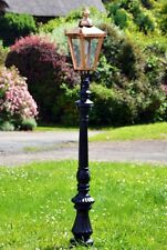 USED Ex-Display 1.8m Copper Victorian Fluted Lamp Post Driveway Lighting Column