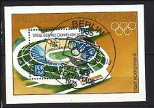DDR Block 46  Ersttagsstempel   Olympiade 1976