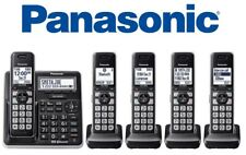 Panasonic KX-TG985 DECT 6.0 Bluetooth 5-handset Phone Answering Link2Cell
