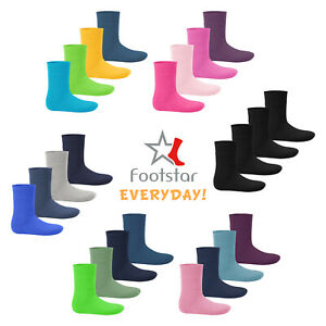 Footstar Kinder Wintersocken (8 Paar) Warme Vollfrottee Socken - Everyday!